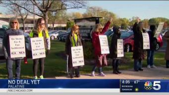 Still No Deal For Striking Palatine School Workers