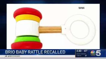 Rattle Recalled Over Safety Concerns