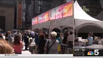 Taste of Chicago Preview Takes Over Daley Plaza