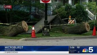 What is a Microburst? NBC 5's Kalee Dionne Explains