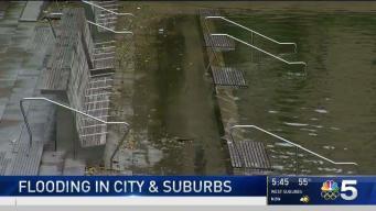 Chicago River Flooding Closes Riverwalk