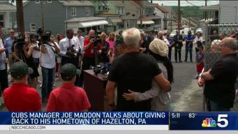 Maddon Gives Back to Community in Hazleton