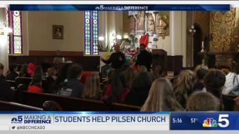 School Uses Service Projects to Help Pilsen
