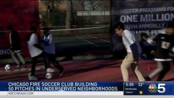 Fire, Emanuel Reveal Plans for Soccer Fields