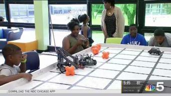 Robot Competition Inspires Kids to Explore Technology