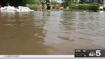Residents in Algonquin Gear Up for More Rain