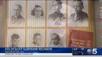 Holocaust Survivor Reunited With Family Who Saved His Life
