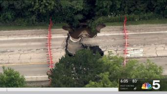 Crews Rush to Fix Gurnee Sinkhole