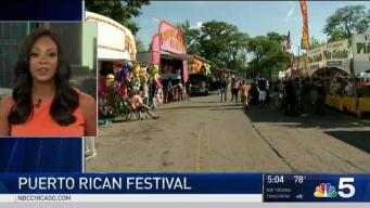 Puerto Rican People's Parade Rolls Through Humboldt Park
