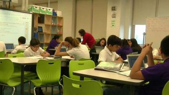 CPS School Hoping to Find Future of Teaching