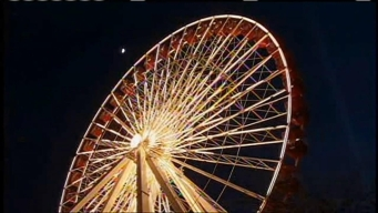 Man Beats Ferris Wheel Ride World Record