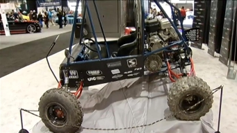 UIC Students Unveil Race Cars at Auto Show