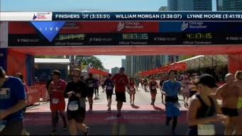 2014 Chicago Marathon Finish Line 38