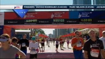 2014 Chicago Marathon Finish Line 40