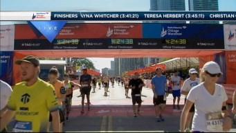 2014 Chicago Marathon Finish Line 41