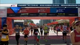 2014 Chicago Marathon Finish Line 42
