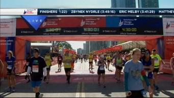 2014 Chicago Marathon Finish Line 43