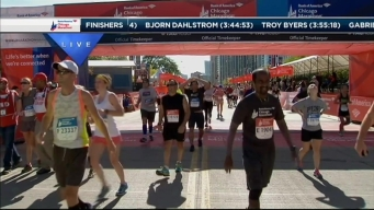 2014 Chicago Marathon Finish Line 44