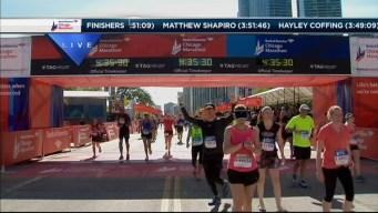 2014 Chicago Marathon Finish Line 45