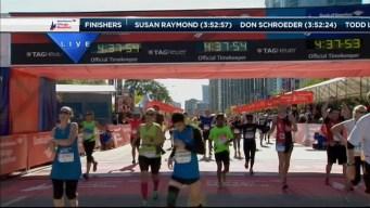 2014 Chicago Marathon Finish Line 46