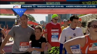 2014 Chicago Marathon Finish Line 47