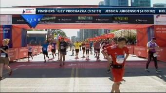 2014 Chicago Marathon Finish Line 48