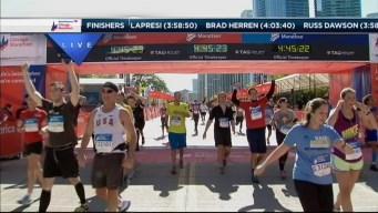 2014 Chicago Marathon Finish Line 49