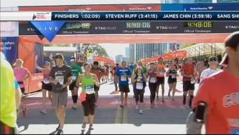 2014 Chicago Marathon Finish Line 50
