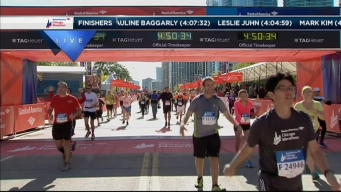 2014 Chicago Marathon Finish Line 51