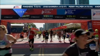 2014 Chicago Marathon Finish Line 53