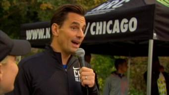 TV Personality Bill Rancic Tackles Chicago Marathon