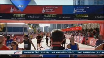 2015 Chicago Marathon Finish Line Cam 16