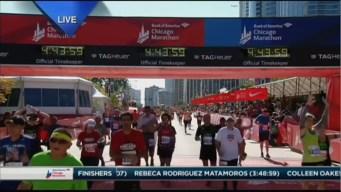 2015 Chicago Marathon Finish Line Cam 21