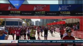 2015 Chicago Marathon Finish Line Cam 22