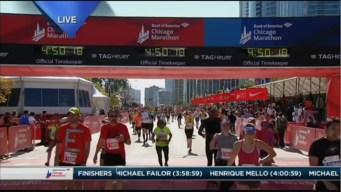 2015 Chicago Marathon Finish Line Cam 23