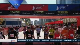 2015 Chicago Marathon Finish Line Cam 24
