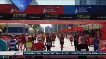 2015 Chicago Marathon Finish Line Cam 27