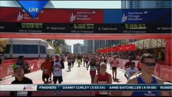 2015 Chicago Marathon Finish Line Cam 29