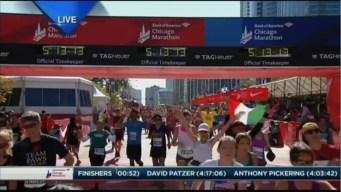 2015 Chicago Marathon Finish Line Cam 30