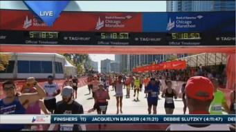 2015 Chicago Marathon Finish Line Cam 32