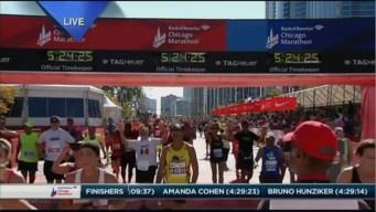 2015 Chicago Marathon Finish Line Cam 34