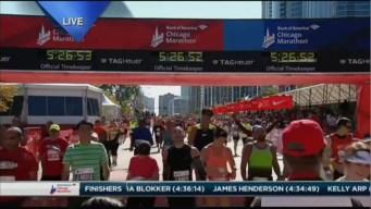 2015 Chicago Marathon Finish Line Cam 35