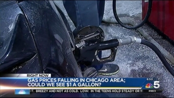 Chicago-Area Gas Prices Hit 12-Year Low