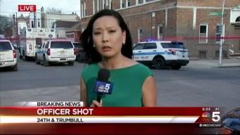 Officer Shot, Second Officer Injured in Chicago