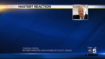 Witnesses Praise Courage of Hastert Victim