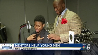 Local Businessmen Help Students Grow