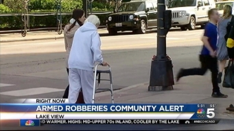 Armed Robbers Hit Lake View, Lincoln Park
