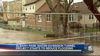 Albany Park to See Flood Relief