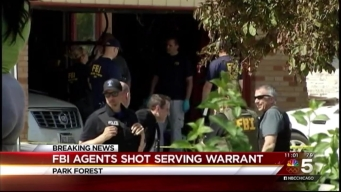 2 FBI Agents Shot in Attempted Arrest, Suspect Found Dead