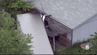1 Dead After Semi Collides With Car, Crashes Into South Suburban Home